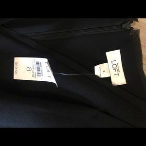 LOFT Dresses - Black LOFT sleeveless dress